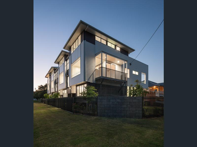 Oak Street Town House  Development, Hawthorne, Brisbane